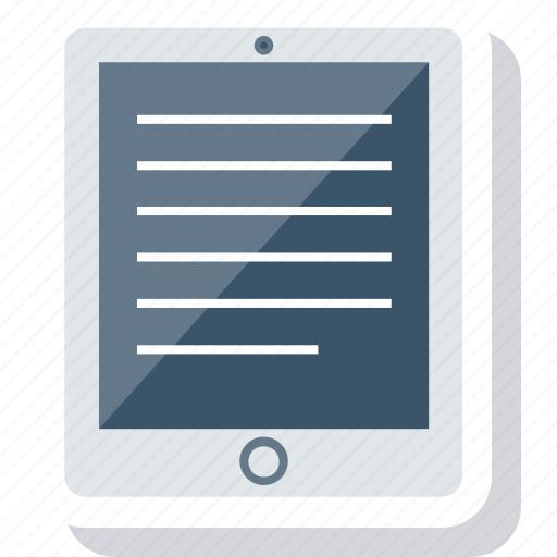 device, hardware, ipad, tablet icon icon