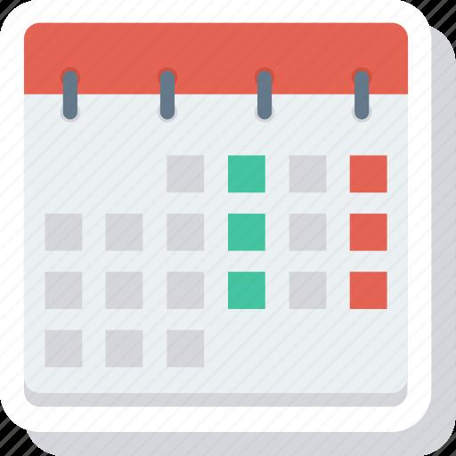 calendar, date, multimedia, schedule icon icon