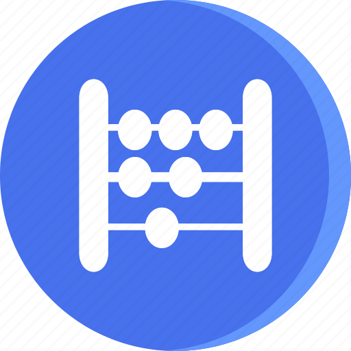 abacus, education, math, school, schooling, science, study icon
