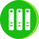 archive, education, file, school, schooling, science, study icon