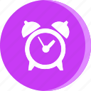alarm, clock, education, school, schooling, science, study icon
