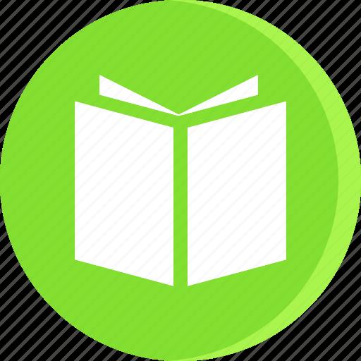book, education, open, school, schooling, science, study icon
