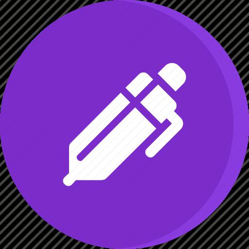 education, pen, school, schooling, science, study, writing icon