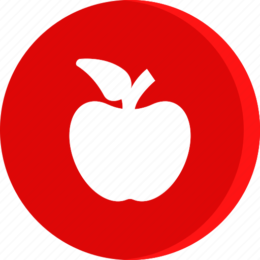 apple, education, fruit, school, schooling, science, study icon