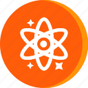 atom, education, molecule, school, schooling, science, study icon