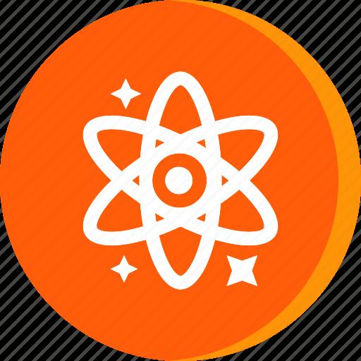 atom, education, molecule, school, schooling, science, study icon
