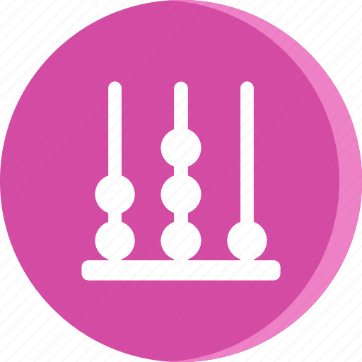 abacus, education, educational, school, schooling, science, study icon