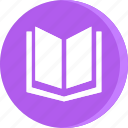 book, education, open, school, schooling, science, study icon