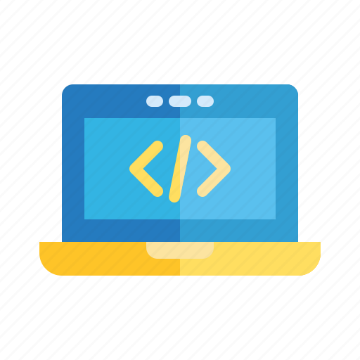 Code, computer, it, laptop, programming, school, subject icon - Download on Iconfinder