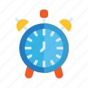 alarm, analog, clock, reminder, school, time icon
