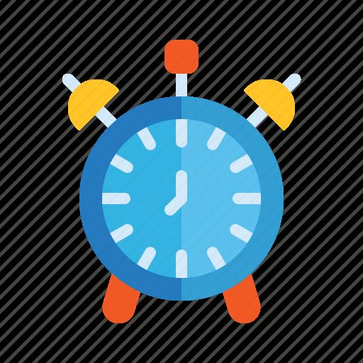 Alarm, analog, clock, reminder, school, time icon - Download on Iconfinder