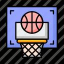 basketball, school, sport icon