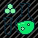 chemistry, laboratory, school icon