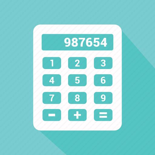 calculating, calculator, maths, technology icon