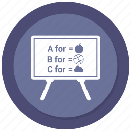 blackboard, demo, list, powerpoint, slideshow, webinar icon