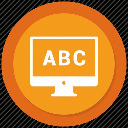 abc, analytics, graph, grow, monitor icon