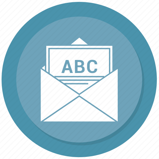 envelope, letter, mail, open icon