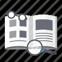 education, literature, school, science icon