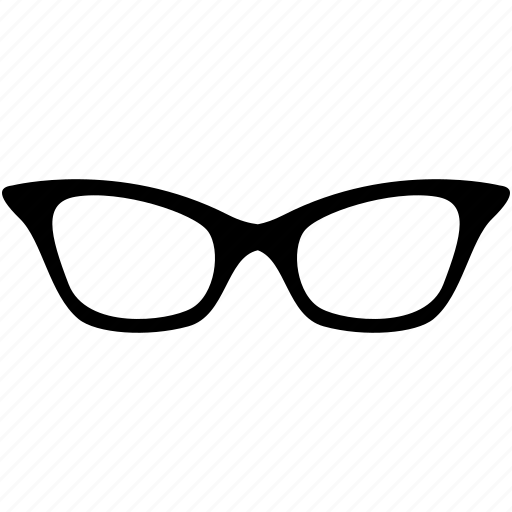 female glasses, glasses, study icon
