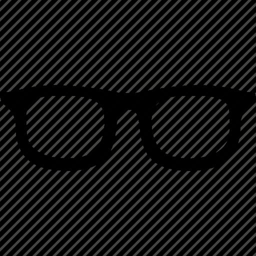 glasses, male glasses, study icon