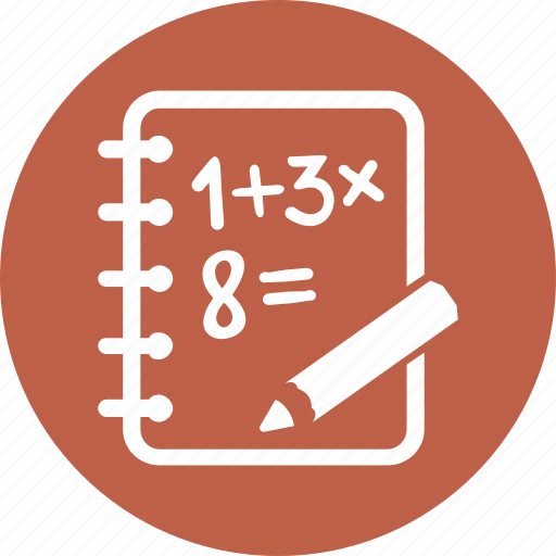 calculate, education, math icon