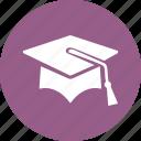 education, graduation, mortar board