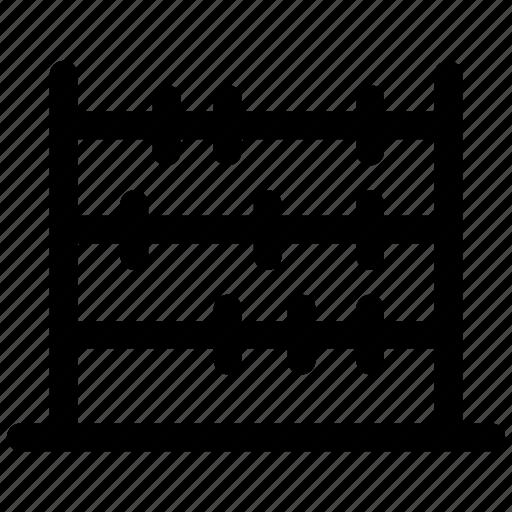 abacus, calculation, calculator icon icon