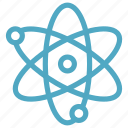 atom, atomic, molecule, science icon icon