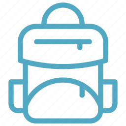 backpack, school bag, travel bag icon icon