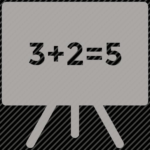 black board, board, chalk board, class room icon icon