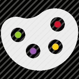color, paint, pallet, pallete, transportation, warehouse icon icon