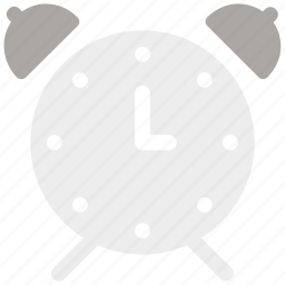 alarm, bell, clock, morning, ringing, time, wake icon icon