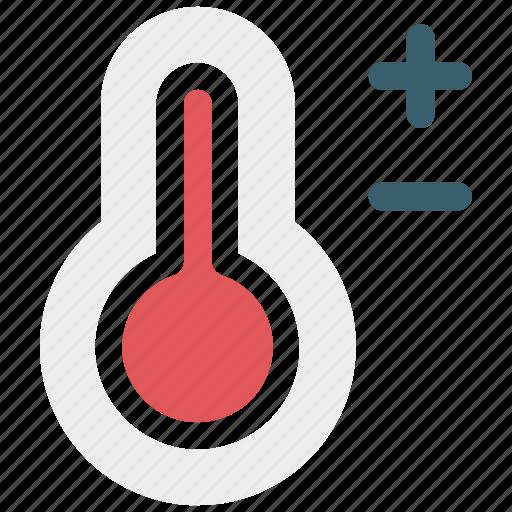temperature, temperature measurement, thermometer icon icon