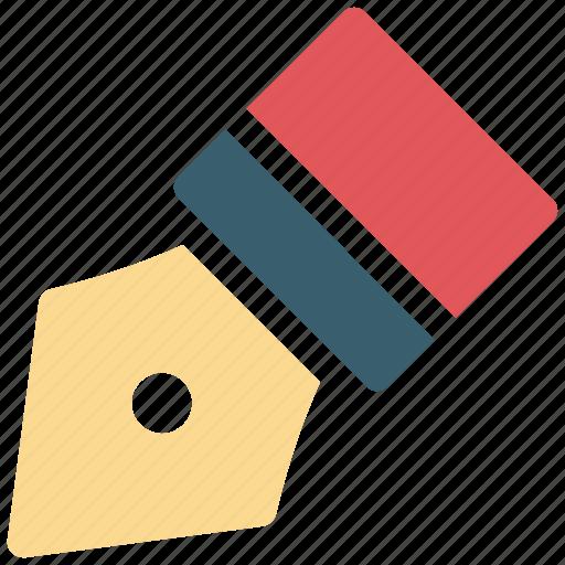 nib, pen, pen nib, writing icon icon