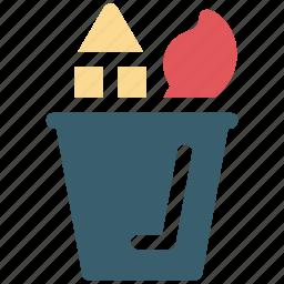 box, container, holder, pen, pencil icon icon