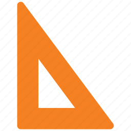 design, math, right angle, ruler, set square icon icon