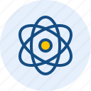 atom, ion, neutron, proton icon