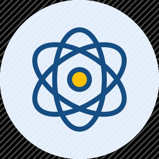 atom, ion, neutron, proton icon