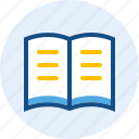 book, document, education, paper icon