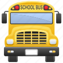 bus, education, school, school bus, vehicle icon