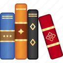 book, education, library, school, schoolbook, textbook icon