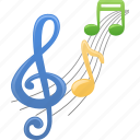 audio, music, music notes, musical note, sheet music icon