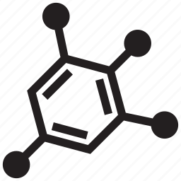 atom, chemical, chemistry, experiment, laboratory, molecule, science icon