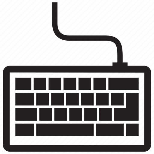 computer, device, hardware, key, keyboard, letter, type icon