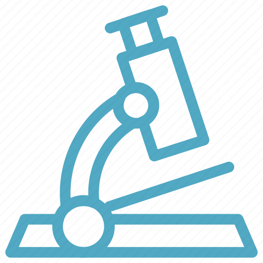 lab, medical, microscope icon icon