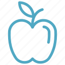 apple, education, fruit, fruits icon icon