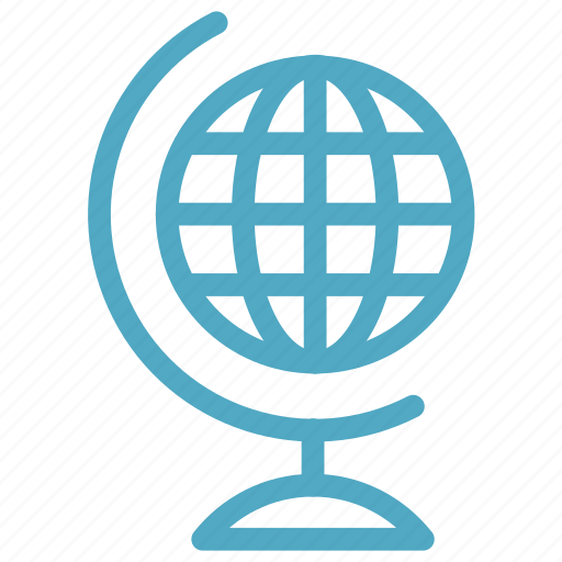 education, geography, globe icon icon