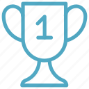 achievement, award, education, trophy icon icon