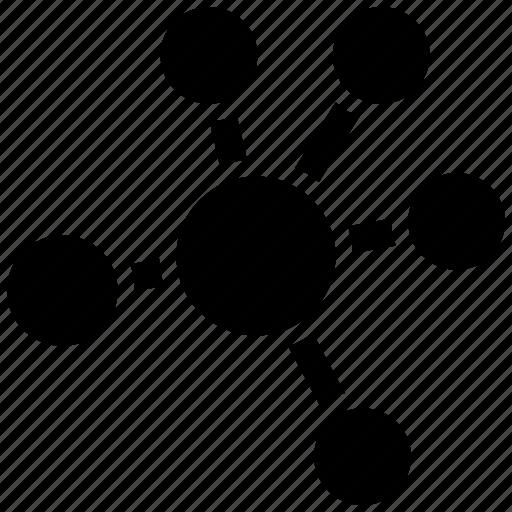atom, molecule, science icon icon