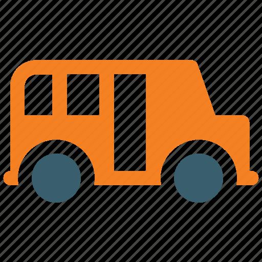 bus, school bus, school van, transport, vehicle icon icon